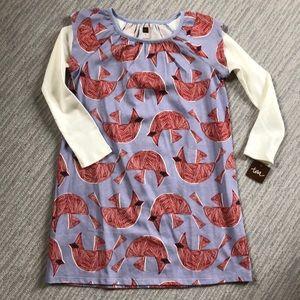 Tea collection cardinal bird dress
